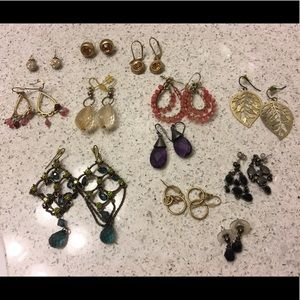 Fun earring lot